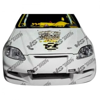 VIS Racing® - Invader 6 Style Fiberglass Bumpers (Unpainted)