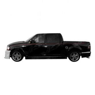 VIS Racing® - Outlaw Style Fiberglass Side Skirts (Unpainted)