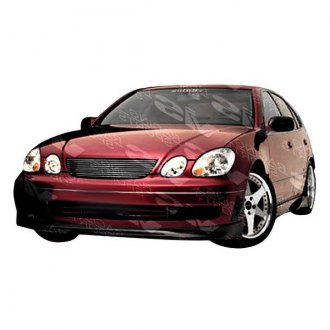 VIS Racing® - Alfa Style Fiberglass Side Skirts (Unpainted)