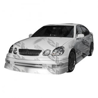 VIS Racing® - VIP Style Fiberglass Side Skirts (Unpainted)