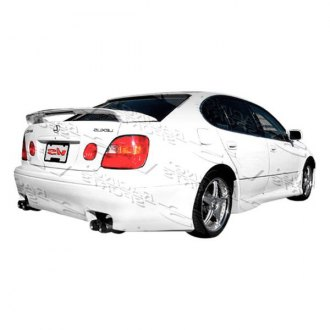 VIS Racing® - Z1 boxer Style Fiberglass Side Skirts (Unpainted)