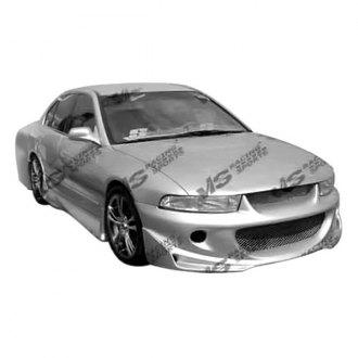vis racing cyber i style fiberglass body kit unpainted - Mitsubishi Galant 2002 Body Kit
