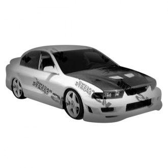vis racing cyber 2 style fiberglass body kit unpainted - Mitsubishi Galant 2002 Body Kit
