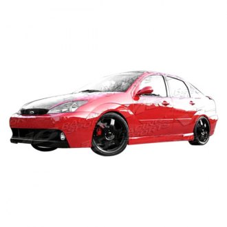 VIS Racing® - DTM Style Fiberglass Side Skirts (Unpainted)