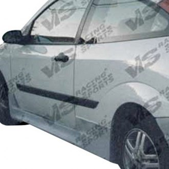 VIS Racing® - Octane Style Fiberglass Side Skirts (Unpainted)
