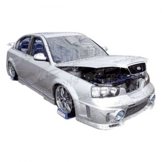 VIS Racing® - EVO 3 Style Fiberglass Side Skirts (Unpainted)