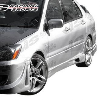 VIS Racing® - EVO Style Fiberglass Side Skirts (Unpainted)