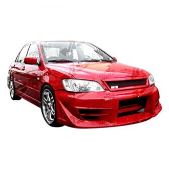 VIS Racing® - Walker Style Fiberglass Side Skirts (Unpainted)