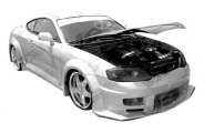 VIS Racing® - GT Wide Body Body Kit