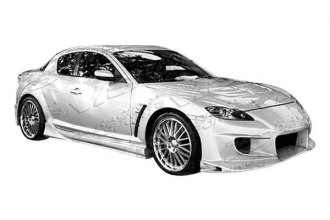 VIS Racing® 04MZRX82DINV-099 - Invader Style Body Kit