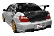 VIS Racing® - Wings Fiberglass Rear Bumper