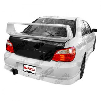 VIS Racing® - Z Speed Style Fiberglass Rear Lip (Unpainted)