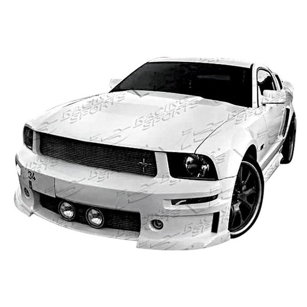 vis racing ford mustang 2005 2009 stalker 2 style body kit. Black Bedroom Furniture Sets. Home Design Ideas