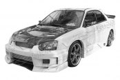 VIS Racing® - Z Speed 2 Fiberglass Body Kit