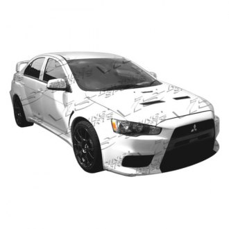 VIS Racing® - EVO X WB Style Body Kit (Unpainted)