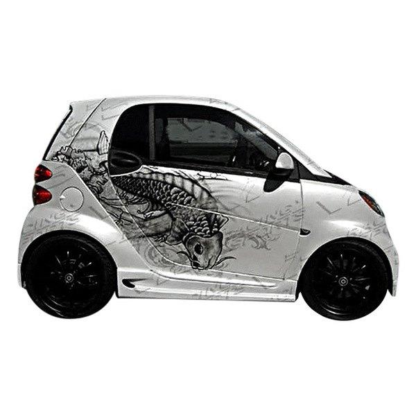 vis racing smart car fortwo 2008 2009 v max style body kit. Black Bedroom Furniture Sets. Home Design Ideas
