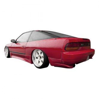 VIS Racing® - Drift Style Fiberglass Rear Fenders (Unpainted)
