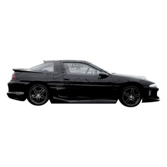 VIS Racing® - Striker Style Fiberglass Side Skirts (Unpainted)