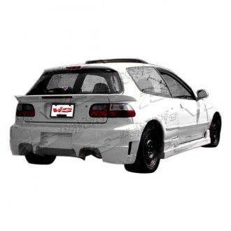 VIS Racing® - Quest Style Fiberglass Rear Bumper (Unpainted)