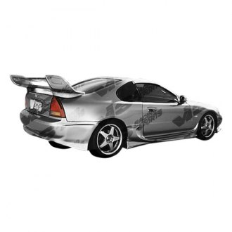 VIS Racing® - Invader 4 Style Fiberglass Side Skirts (Unpainted)