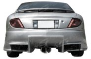VIS Racing® - Ballistix Rear Bumper