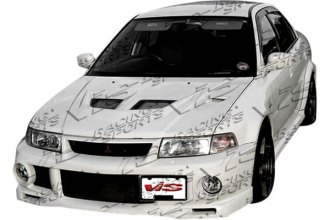 VIS Racing® - EVO 6 Wide Body Style Front Bumper