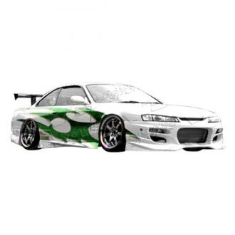 VIS Racing® - GT Bomber 2 Style Front Bumper (Unpainted)