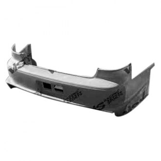 VIS Racing® - Battle Z Style Fiberglass Rear Bumper