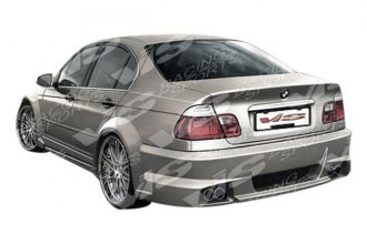 VIS Racing® 99BME464DIMMWB-002 - Immense Wide Body Style Fiberglass Rear Bumper