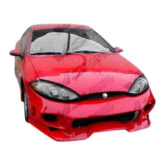 VIS Racing® - Invader Style Fiberglass Front Bumper (Unpainted)