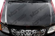 VIS Racing® - Cobra R 2000 Carbon Fiber Hood