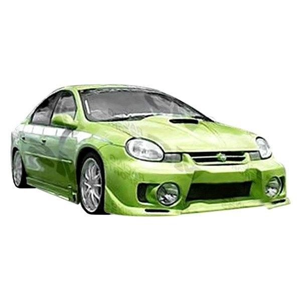 VIS Racing® - Evo 5 Style Fiberglass Front Bumper (Unpainted)