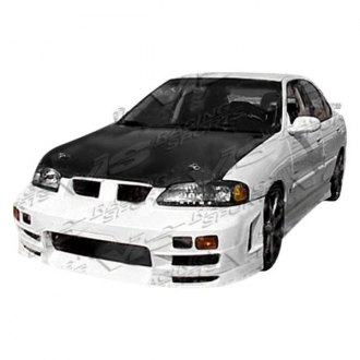 VIS Racing® - Evo 4 Style Fiberglass Side Skirts (Unpainted)