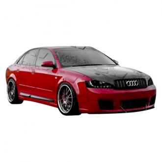 VIS Racing® - RS4 Style Fiberglass Bumpers (Unpainted)