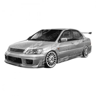 VIS Racing® - K Speed Style Fiberglass Side Skirts (Unpainted)
