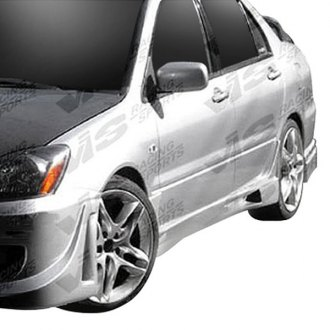 VIS Racing® - Rally Style Fiberglass Side Skirts (Unpainted)