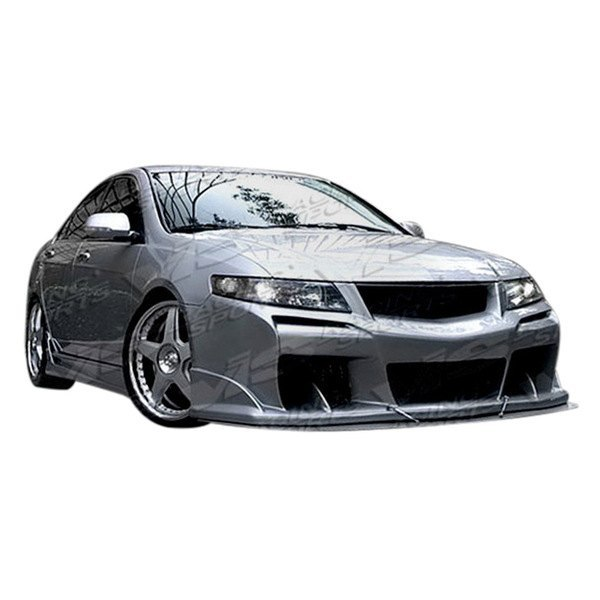 Acura TSX 2004 Laser Style Fiberglass Bumpers