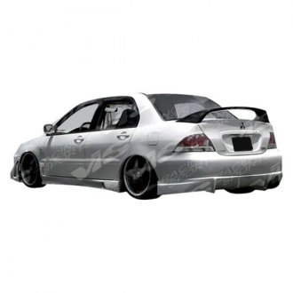 VIS Racing® - Rally Style Fiberglass Rear Bumper (Unpainted)