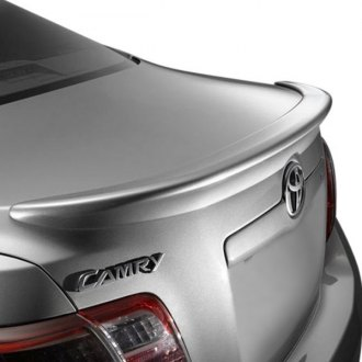 VIS Racing® - Flush Mount Style Fiberglass Rear Lip Spoiler (Unpainted)