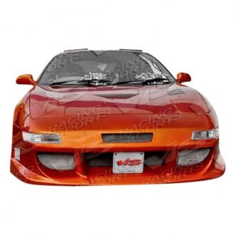 VIS Racing®   Ballistix Style Fiberglass Front Bumper (Unpainted)