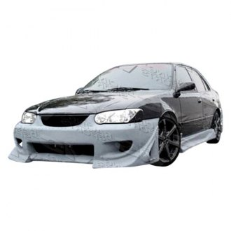 VIS Racing® - Battle Z Style Fiberglass Side Skirts (Unpainted)