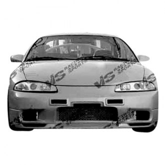 VIS Racing® - Omega Style Fiberglass Front Bumper (Unpainted)