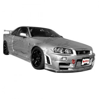 VIS Racing® - Techno R Style Fiberglass Body Kit (Unpainted)