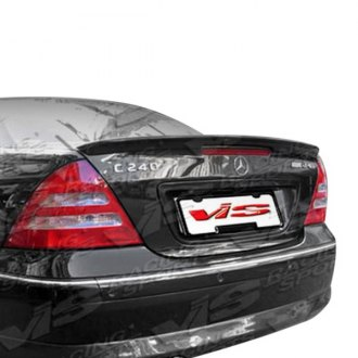 VIS Racing® - Euro Tech Style Fiberglass Rear Lip Spoiler (Unpainted)