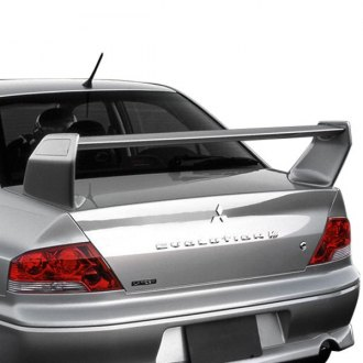 2002 Mitsubishi Lancer Spoilers  Custom Factory Lip  Wing Spoilers