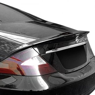 VIS Racing® - B Spec Style Fiberglass Rear Lip Spoiler (Unpainted)