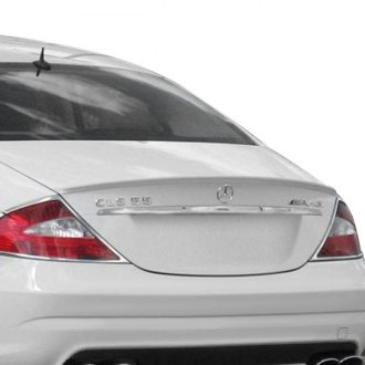 VIS Racing® - C Tech Style Fiberglass Rear Lip Spoiler (Unpainted)