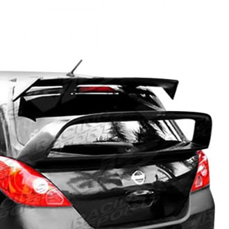 VIS Racing® - Rally Style Fiberglass Rear Spoiler (Unpainted)