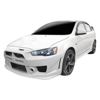 VIS Racing® - A SPEC Style Fiberglass Side Skirts (Unpainted)