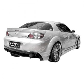 VIS Racing® - Wings Style Rear Lip Spoiler